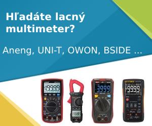 Hľadáte lacný multimeter?
