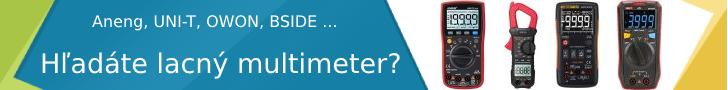 Hľadáte lacný multimeter ?