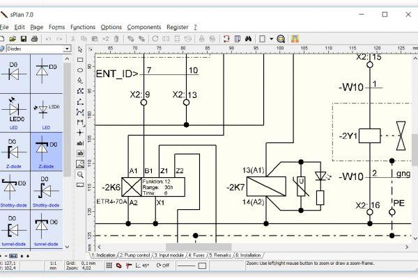 #1 sPlan 7 tvorba a editácia elektronických schém