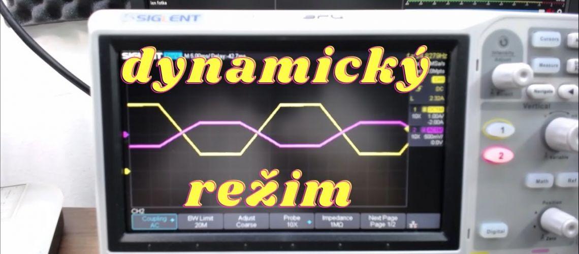 2. Elektronická záťaž Axiomet - dynamický režim