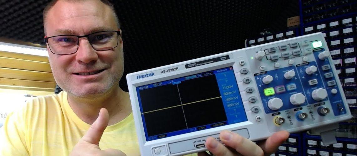 #2 Základy práce s digitálnym osciloskopom, alebo ako si nezničiť osciloskop