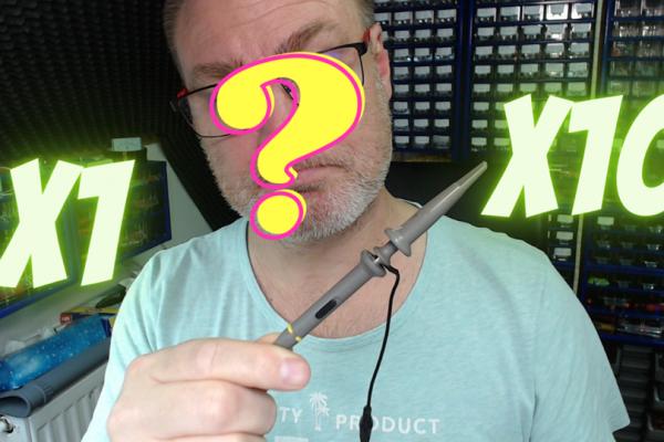 #3 Povedzme si niečo o osciloskopickej sonde a čo znamená poloha X1 a X10