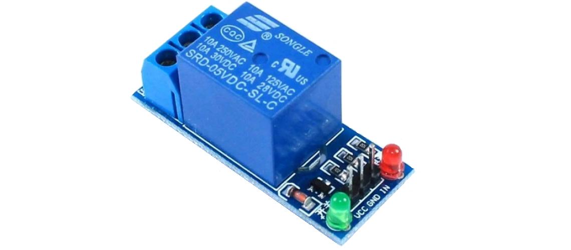 5V jednokanálový reléový modul