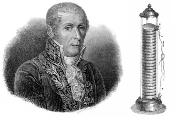 Alessandro Volta vynálezca, ktorý spútal elektrinu do prvej elektrickej batérie