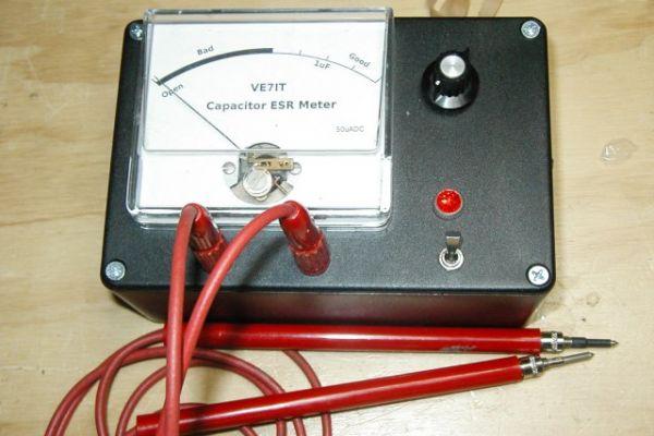 Analógový ESR merač kondenzátorov
