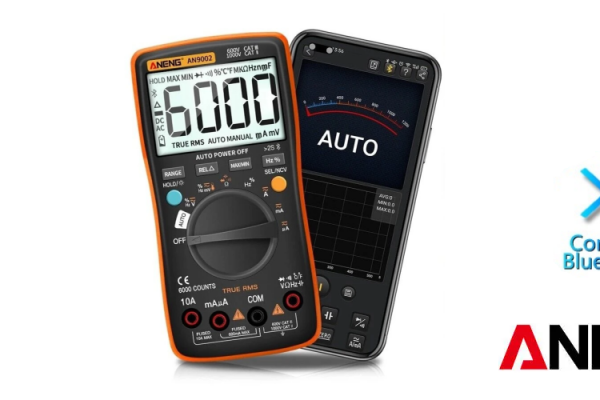 ANENG AN9002 Digitálny multimeter s True RMS a BlueTooth