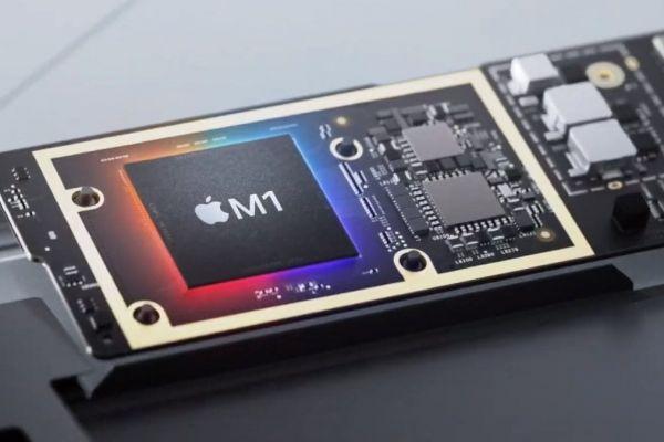 Apple M1 suverénne poráža v benchmarkoch GTX 1050 Ti a Radeon RX 560