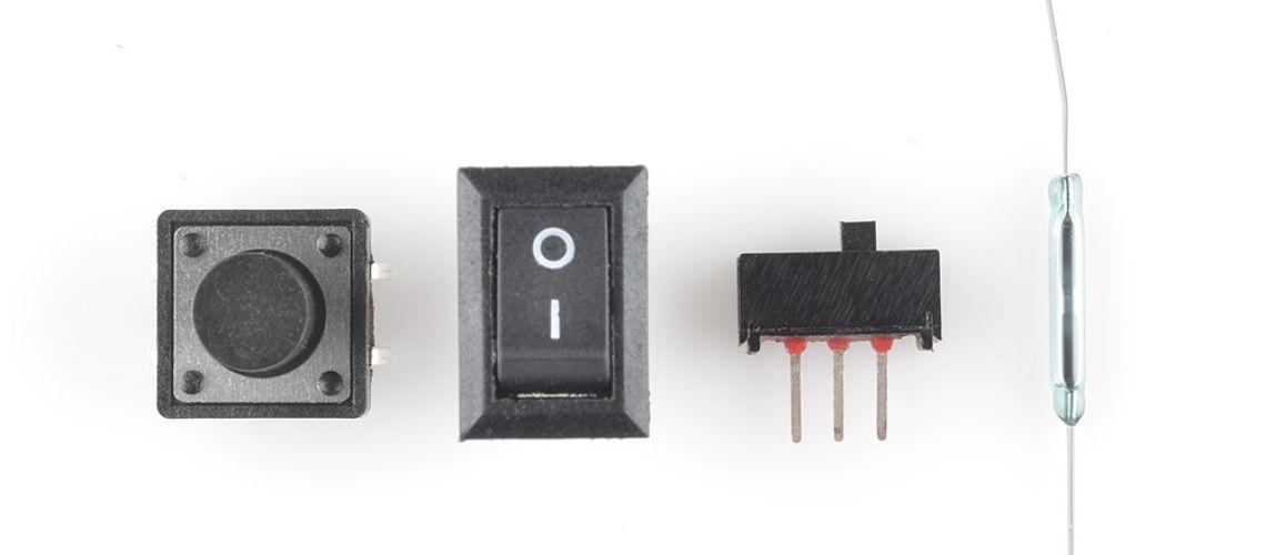 Čo je to spínač, aká je jeho funkcia v elektrickom obvode a aké poznáme základné druhy?