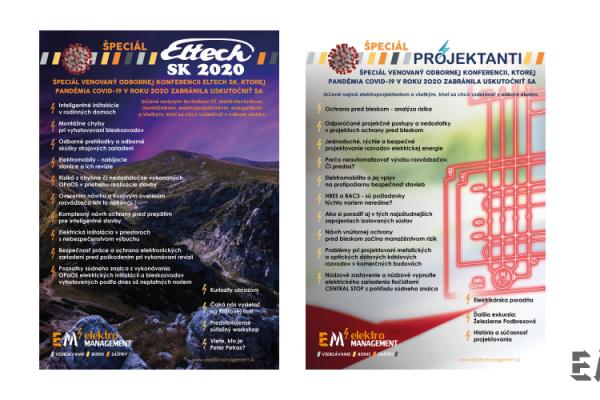 Dvojica odborných časopisov KoronaŠpeciál Projektanti a KoronaŠpeciál ELTECH SK