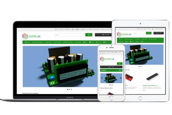 ElektroLab má svoj vlastný E-shop