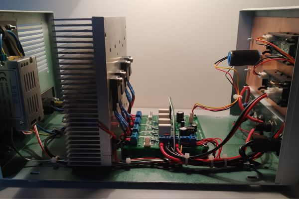 Elektronická jednosmerná záťaž 150W - 10A