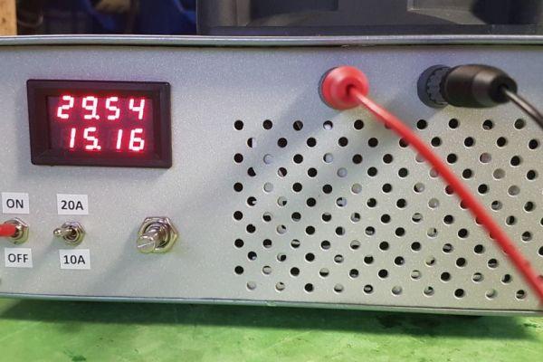 Elektronická umelá záťaž 400W 20A