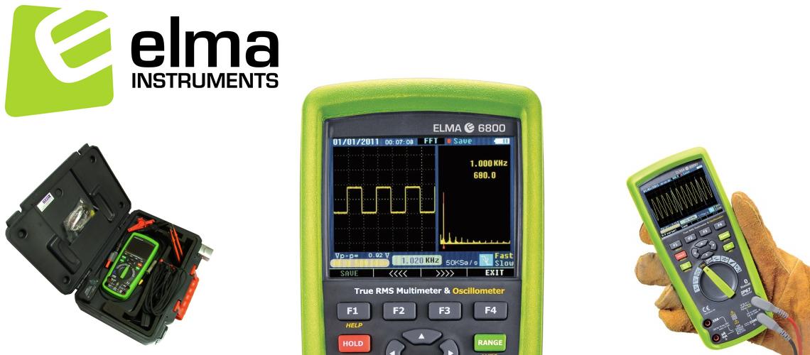 Elma 6800 – Grafický multimeter s osciloskopom / Oscillometer