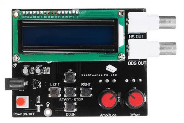 FG-050 - funkčný generátor DDS signálu