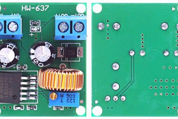 HW-637 step up boost prevodník