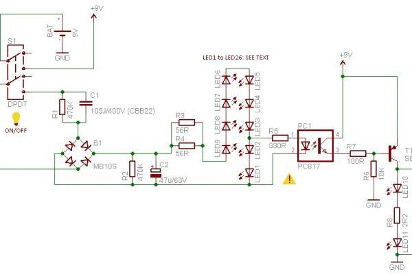 Inteligentný núdzový záložný zdroj osvetlenia s LED