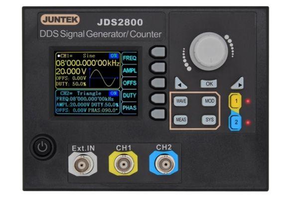 JDS2800- 60MHZ Digitálny  Dvojkanálový DDS Signálny generátor funkcií
