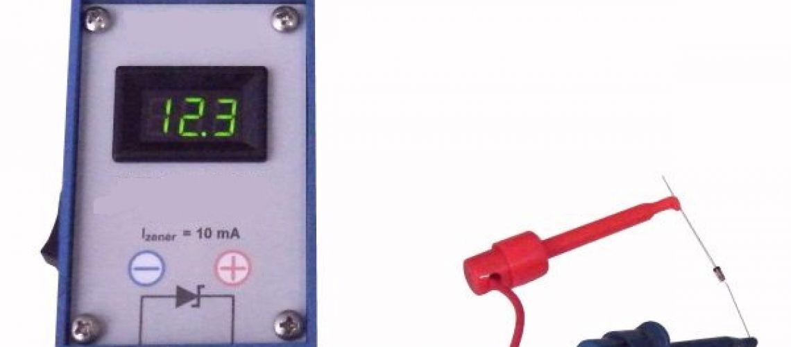 Jednoduchý modulárny tester zenerových diód