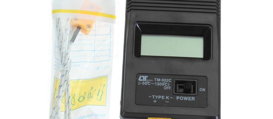 Jednoduchý teplomer TM-902C
