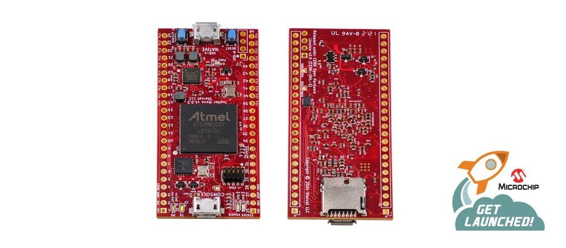 Jupiter NANO malý, ale výkonný počítač, na ktorom beží Linux alebo RTOS NuttX