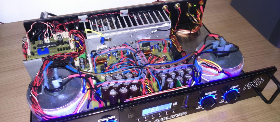 Konštrukcia audio zosilňovača