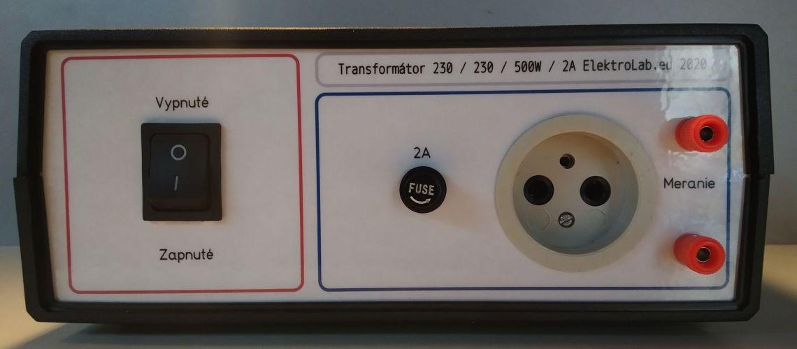 Konštrukcia oddeľovacieho transformátora