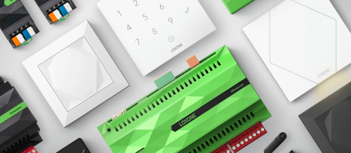 Loxone - jednoduchý príklad domácej automatizácie