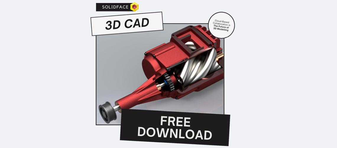 Máme pre vás perfektné 3D CAD riešenie - ZDARMA