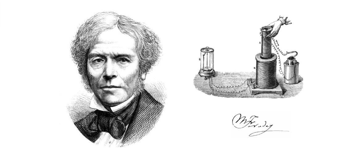 Michael Faraday objaviteľ elektromagnetickej indukcie