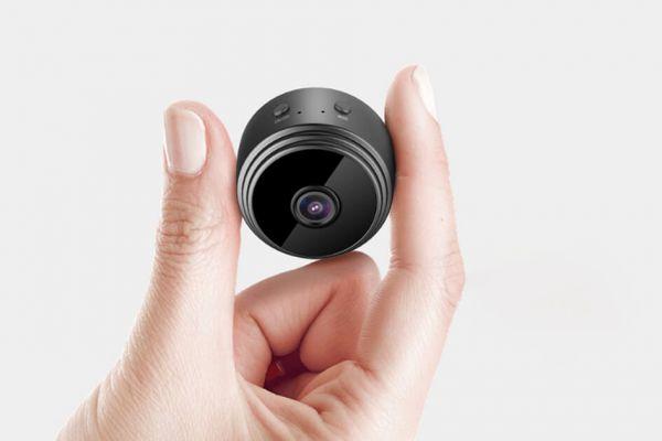 Mini IP kamera s rozlíšením Full HD, Wi-Fi, senzorom pohybu......