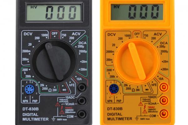 Nebezpečný výrobok : Digitálny multimeter DT-830A
