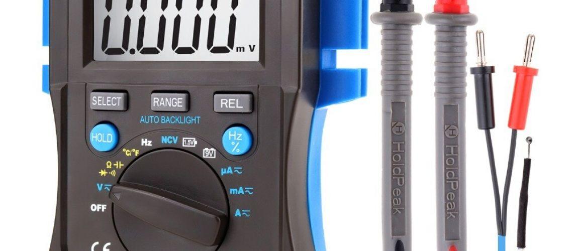 Nebezpečný výrobok : HoldPeak digitálny multimeter HP-37C