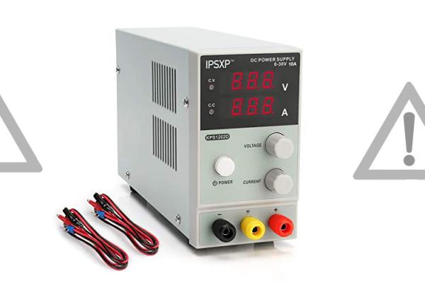 Nebezpečný výrobok : Jednosmerný napájací zdroj KPS1202D