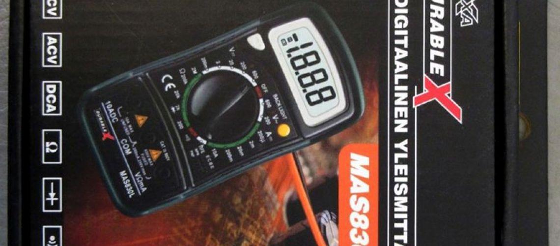 Nebezpečný výrobok : Lexxa Durable X digitálny multimeter MAS830L