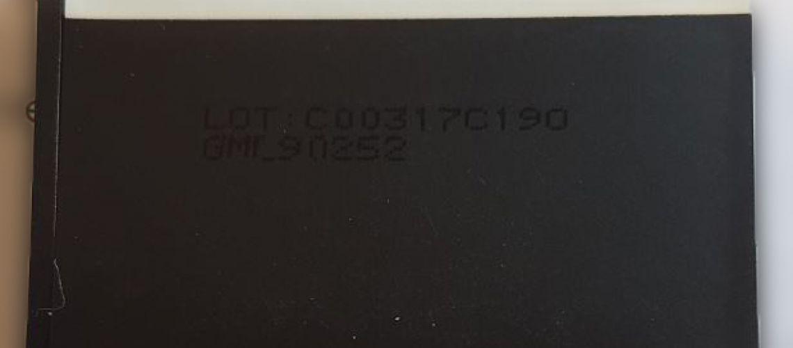 Nebezpečný výrobok : Náhradná batéria pre mobilný telefón GML90252