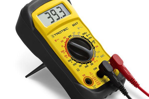 Nebezpečný výrobok : Trotec digitálny multimeter BE48