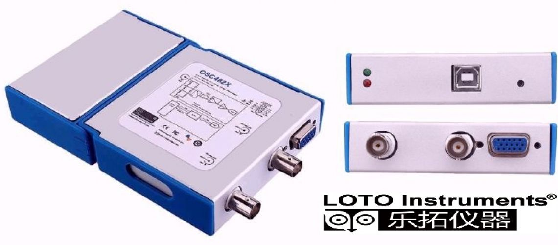 OSC482X USB osciloskop 2 x 20MHz od LOTO Instruments
