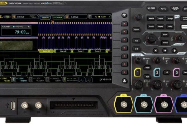 Osciloskopy MSO5000 - Plná výbava už v základe