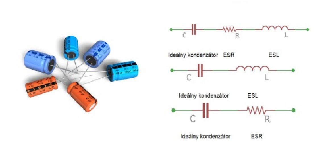 Pochopenie ESR a ESL javov pri kondenzátoroch
