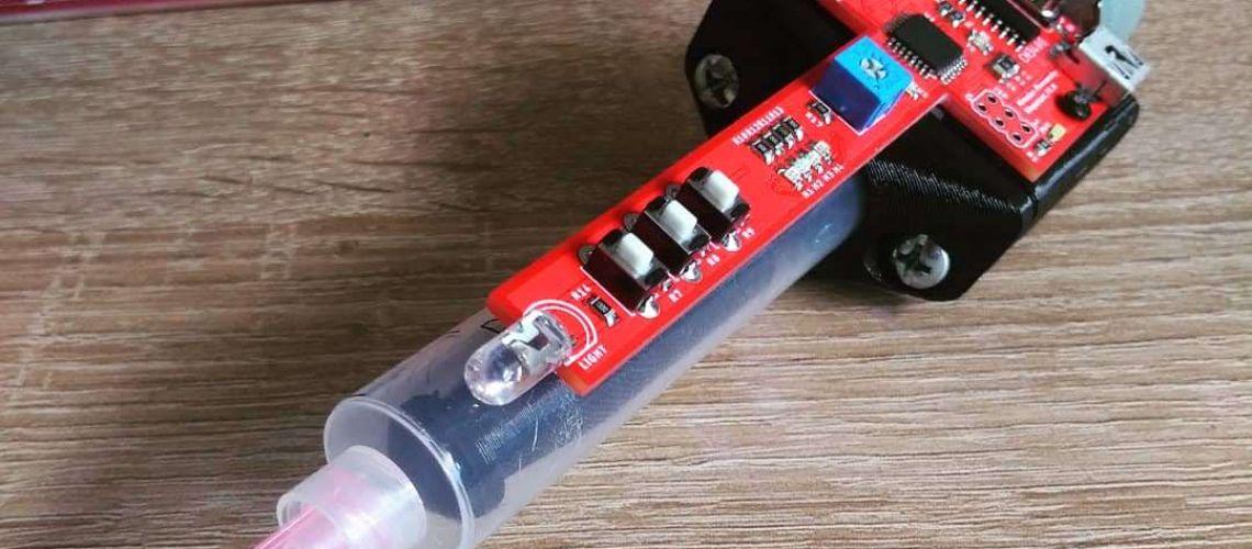 Podávač spájkovacej pasty – Solder paste dispenser