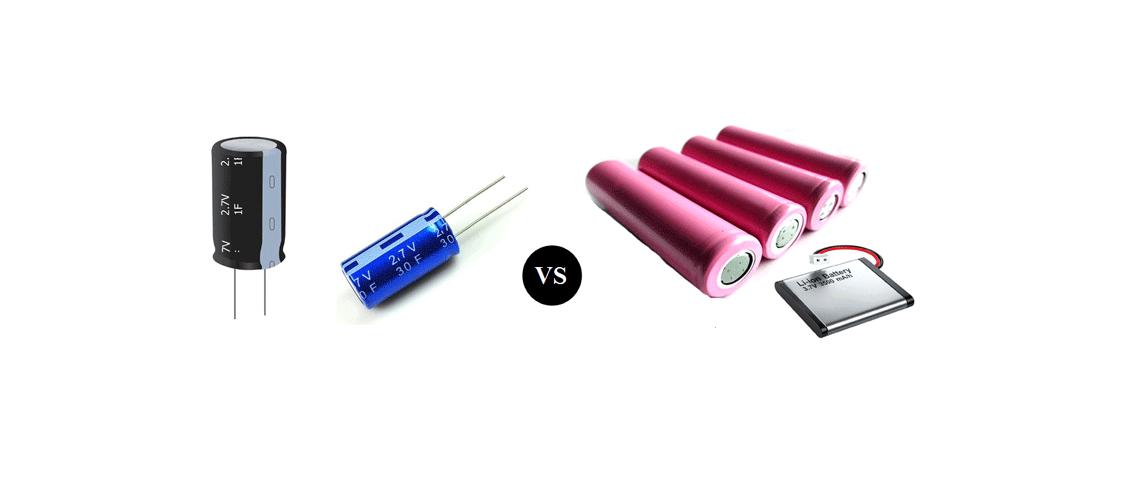 Porovnanie batérie a superkondenzátora - čo majú spoločné a v čom sú rozdielne