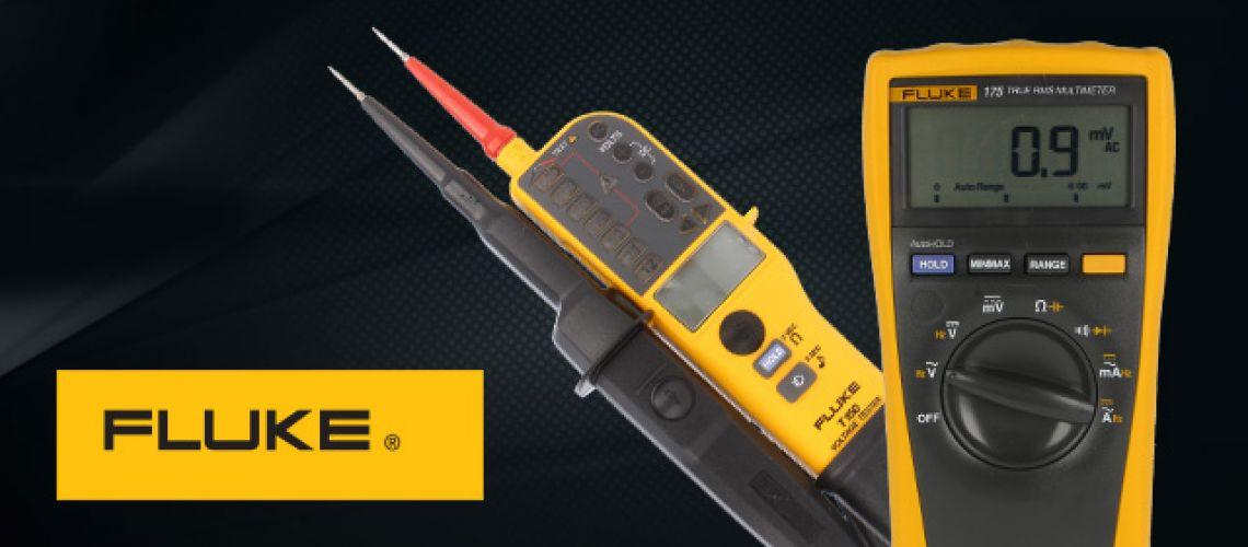 Presné meranie s testermi a multimetrami FLUKE