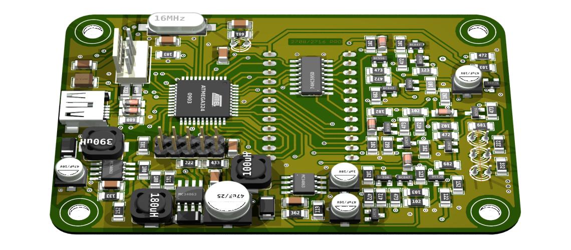 Programátor obvodov EPROM 2708 a 2716 s možnosťou rozšírenia