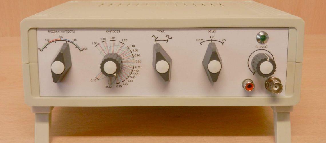 RC generátor sínus / obdelník