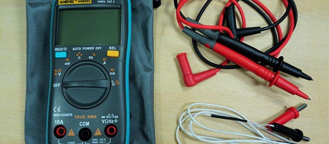 Recenzia Multimeter ANENG AN8002