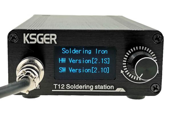 Recenzia spájkovacej stanice KSGER T12 STM32 2.1S