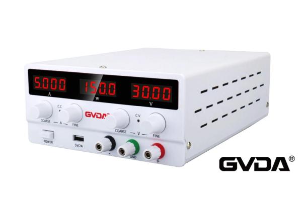 Regulovateľný zdroj GVDA SPS-H305, 30 V a 5 A