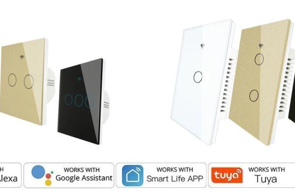 Smart vypínače pre osvetlenie v domácnosti
