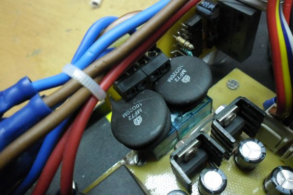 Soft-start pre transformátor do 2kW