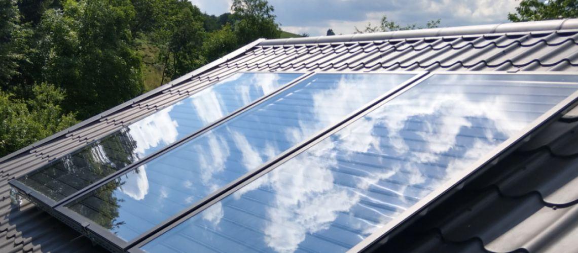 Solárne kolektory pre ohrev TÚV tlakové a Drain-Back systémy